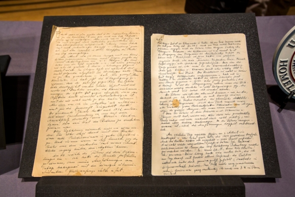 Rosenberg Diary Transfered to US Holocaust Museum